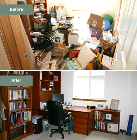 Home Office Before & After